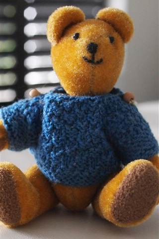 iPhone Wallpaper Furry toy, teddy
