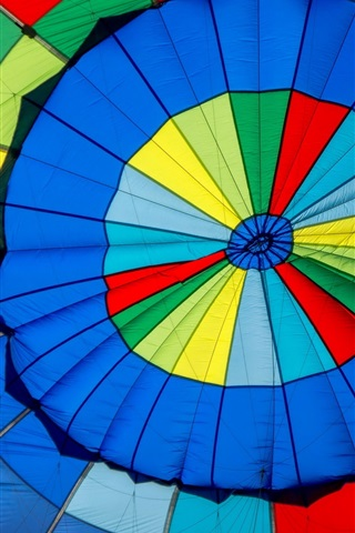 iPhone Wallpaper Hot air balloon colorful colors