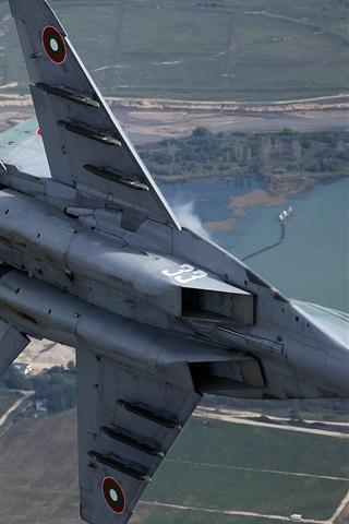 iPhone Wallpaper MiG-29 multipurpose fighter