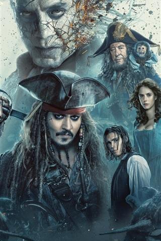 iPhone Hintergrundbilder Piraten der Karibik 2017