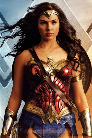 iPhone Wallpaper Wonder Woman, 2017 movie HD