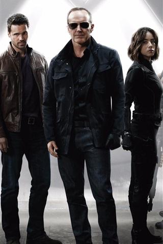 iPhone Wallpaper ABC TV series, Agents of S.H.I.E.L.D.