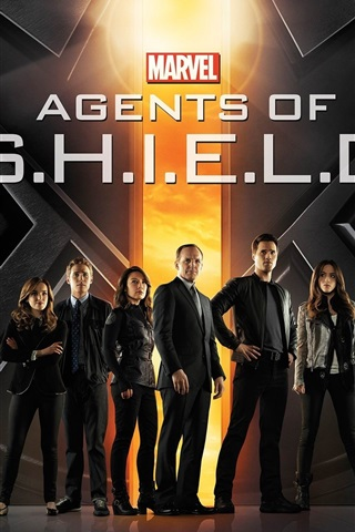 iPhone Wallpaper Agents of S.H.I.E.L.D., TV series