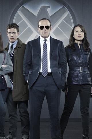 iPhone Wallpaper Agents of S.H.I.E.L.D.