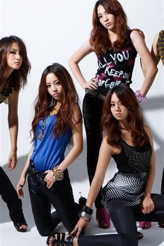 iPhone Wallpaper Asian girls, model