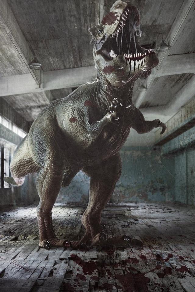 Fondos De Pantalla Dinosaurio Y Hombre En La Sala 1920x1080