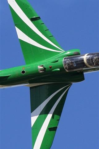 iPhone Wallpaper Subsonic plane, jet, flight, sky