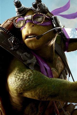 iPhone Wallpaper Teenage Mutant Ninja Turtles: Out of the Shadows, Donatello
