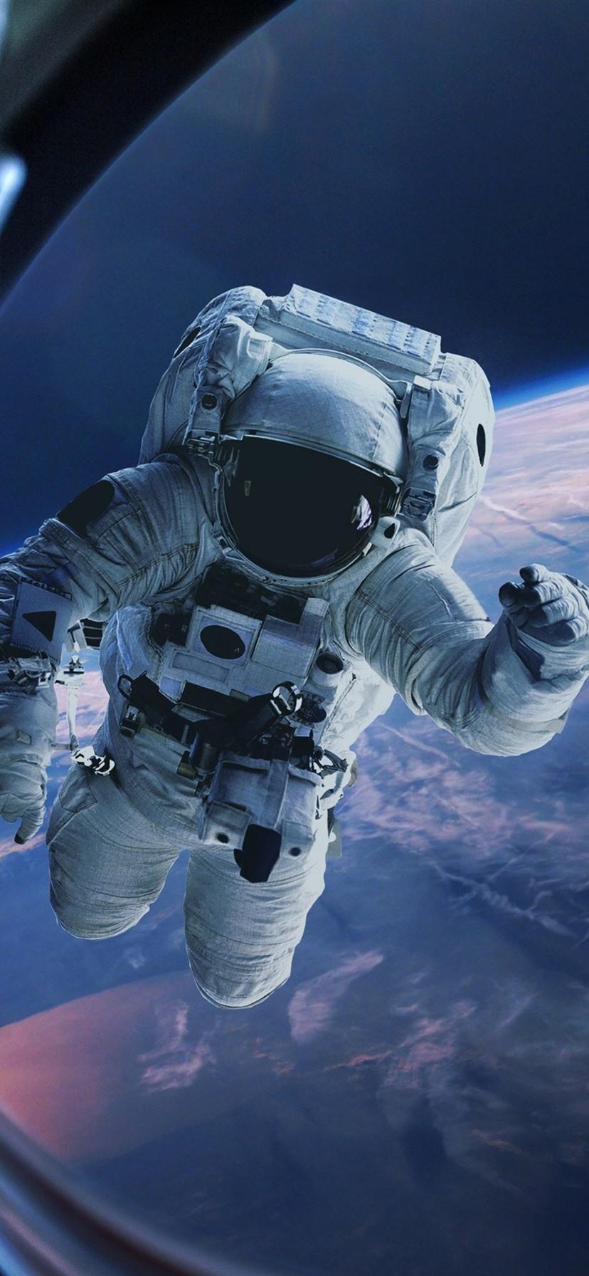 Astronaut erde fenster schwerkraft raum 3840x2160 uhd - Space wallpaper net ...