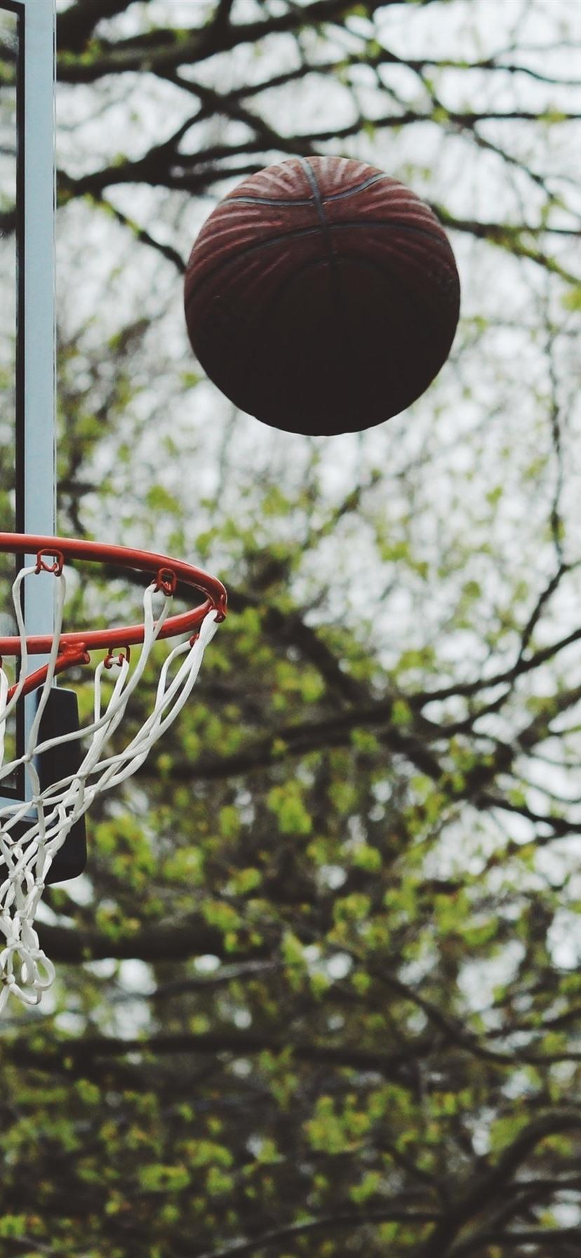 バスケットボール スローボール ボケ 1080x19 Iphone 8 7 6 6s Plus 壁紙 背景 画像