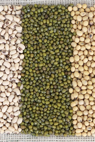 iPhone Wallpaper Beans, colors, grain
