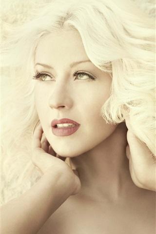 iPhone Wallpaper Christina Aguilera 23