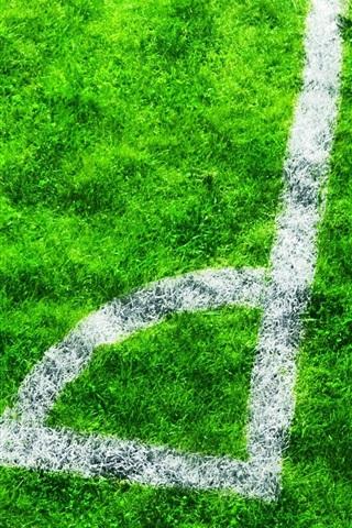 iPhone Wallpaper Football field, grass