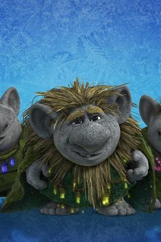 iPhone Wallpaper Frozen, trolls, Disney cartoon