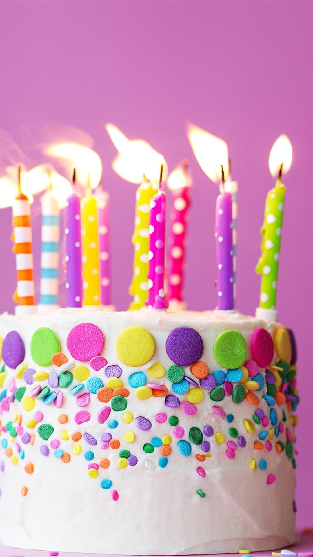 Картинки торта со свечами на день рождения