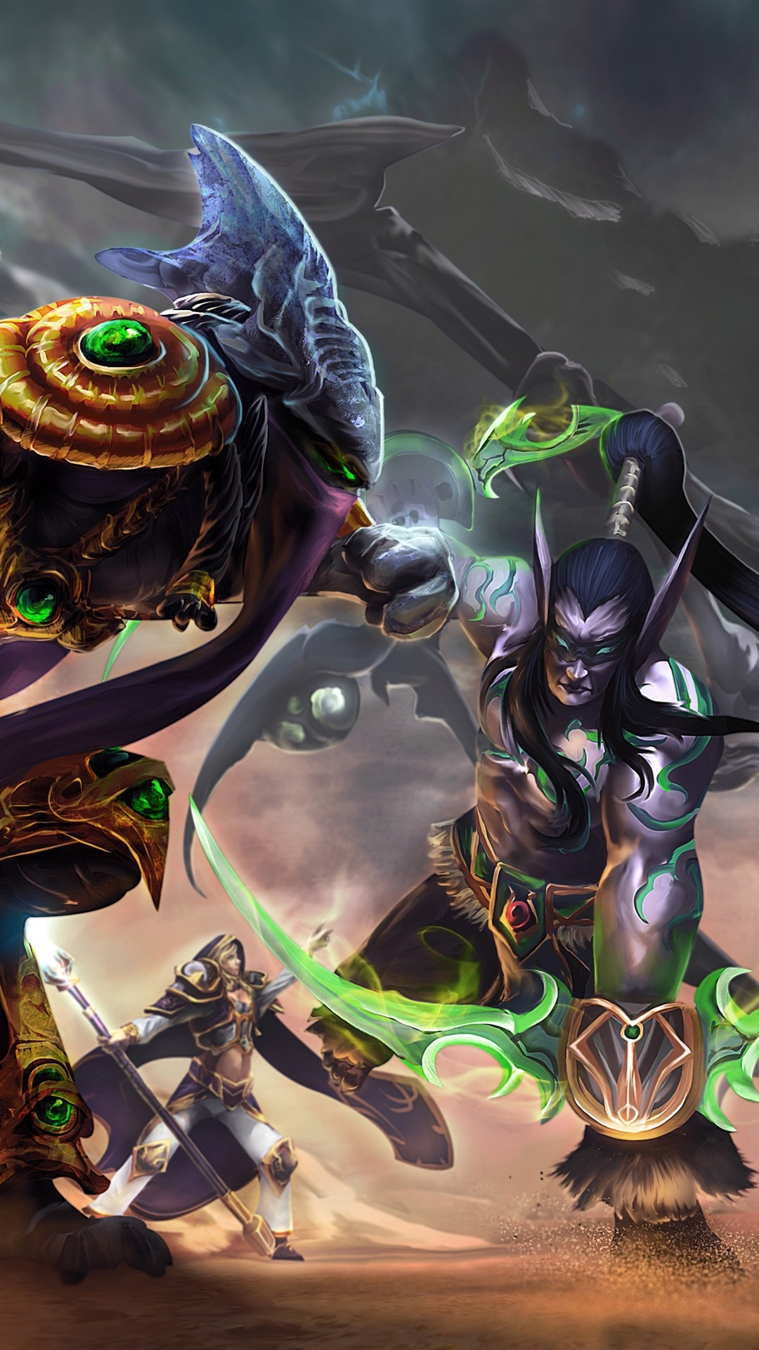 Heroes Of The Storm Art Picture 1080x1920 Iphone 8 7 6 6s Plus