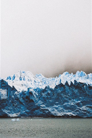 iPhone Wallpaper Los Glaciares National Park, glacier, Argentina