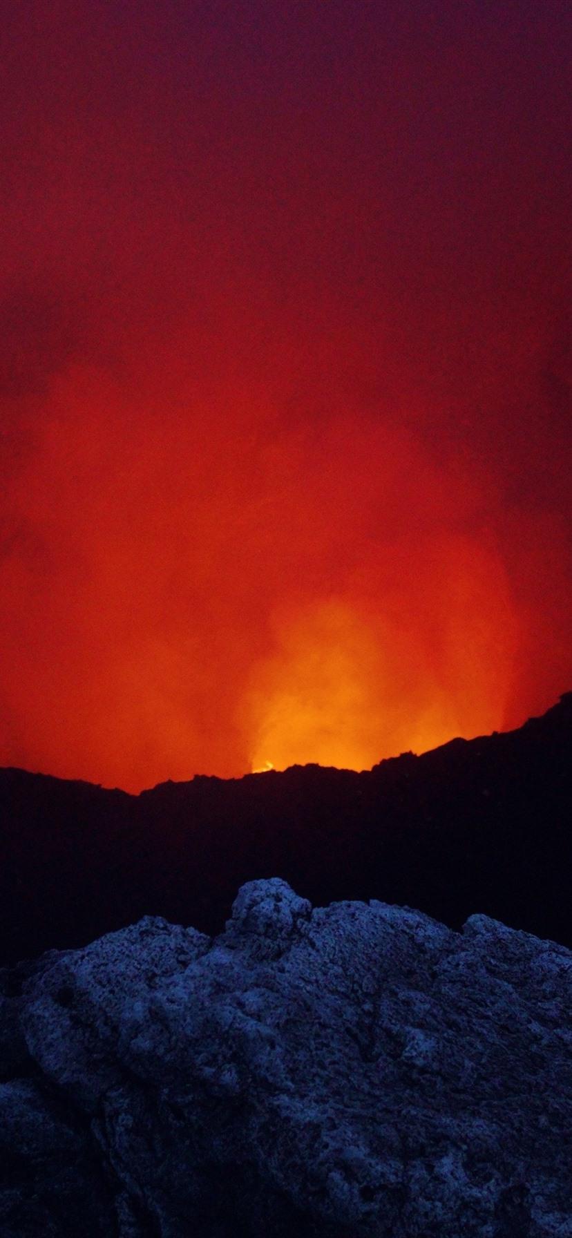 Wallpaper Nicaragua, Masaya Volcano, lava 3840x2160 UHD 4K Picture, Image