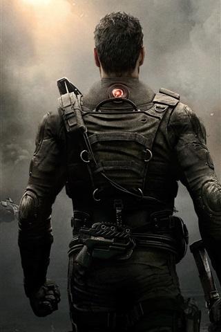 iPhone Papéis de Parede Tom Clancy's Rainbow Six: Patriotas, soldados