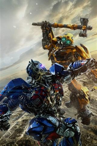 iPhone Hintergrundbilder Transformers: Der letzte Ritter, 2017 heißen Film