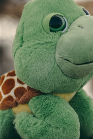 iPhone Wallpaper Turtle toy
