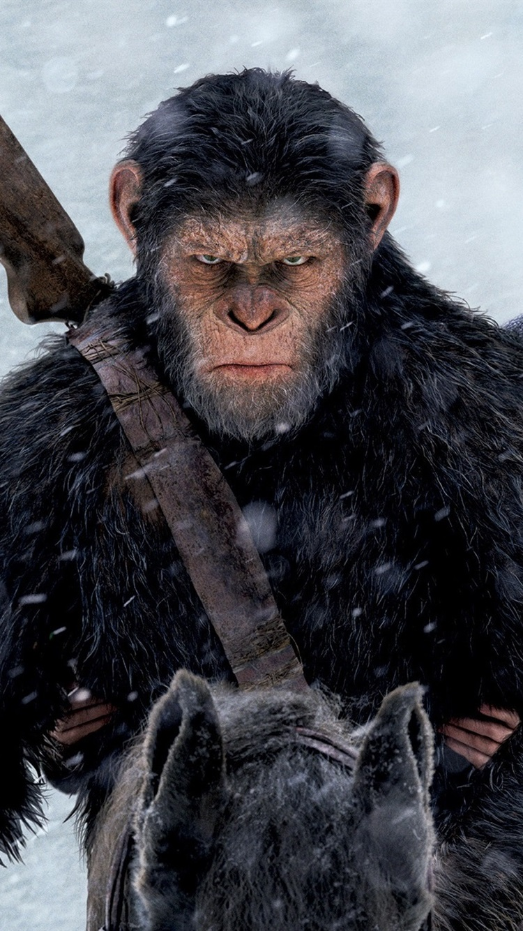 War For The Planet Of The Apes 2017 750x1334 Iphone 8 7 6 6s Wallpaper Background Picture Image