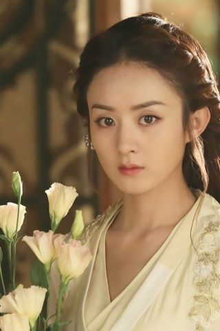 iPhone Wallpaper Zhao Liying, Chinese TV series, Princess Agents