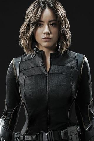 iPhone Wallpaper Agents of S.H.I.E.L.D., Chloe Bennet, Daisy Johnson