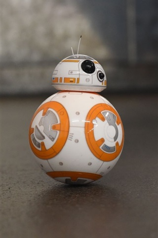 iPhone Wallpaper BB8 robot, toy, Star Wars