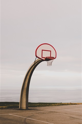 iPhone Wallpaper Basketball net, special shaped