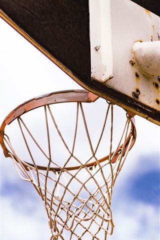 iPhone Wallpaper Basketball net