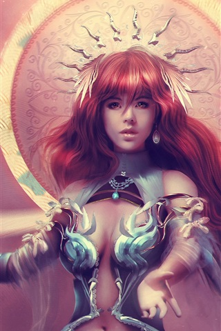 Fantasy Art Warrior Goddess