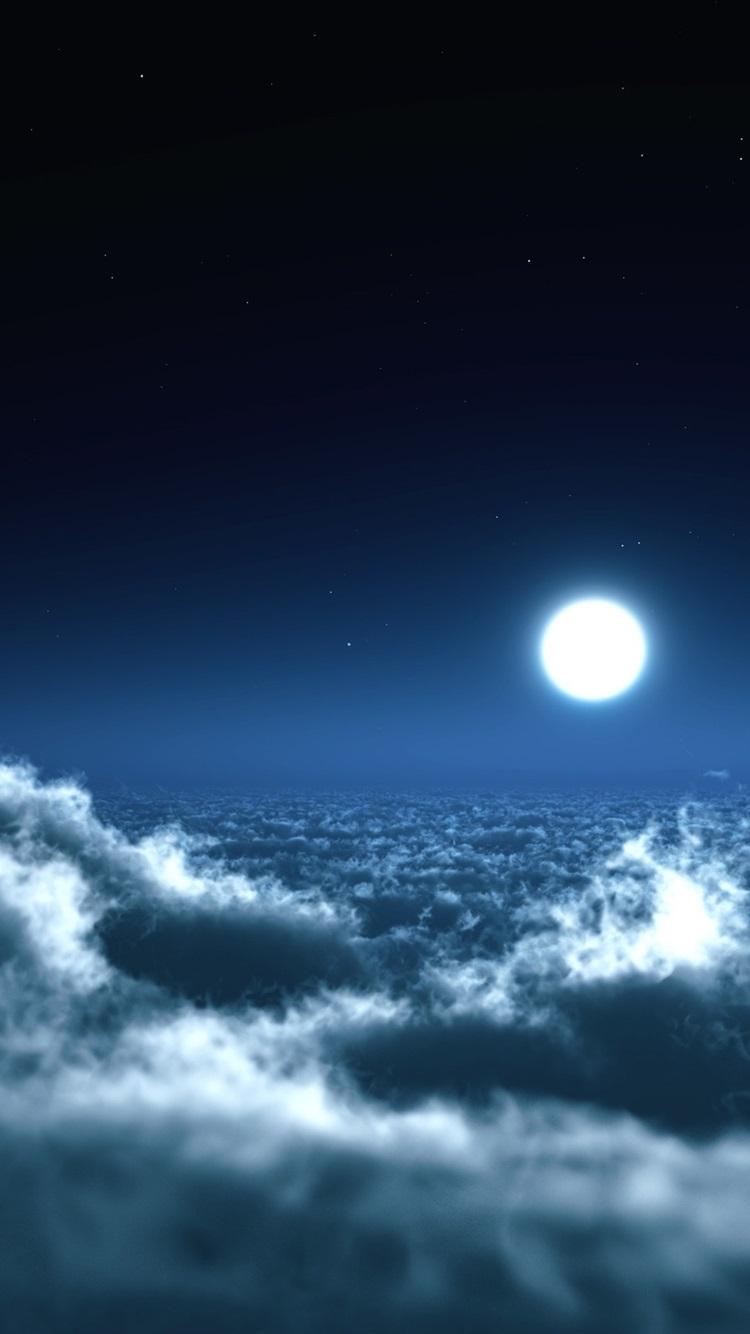 壁紙 美しい夜 月 雲 空 2560x1600 Hd 無料のデスクトップの背景 画像