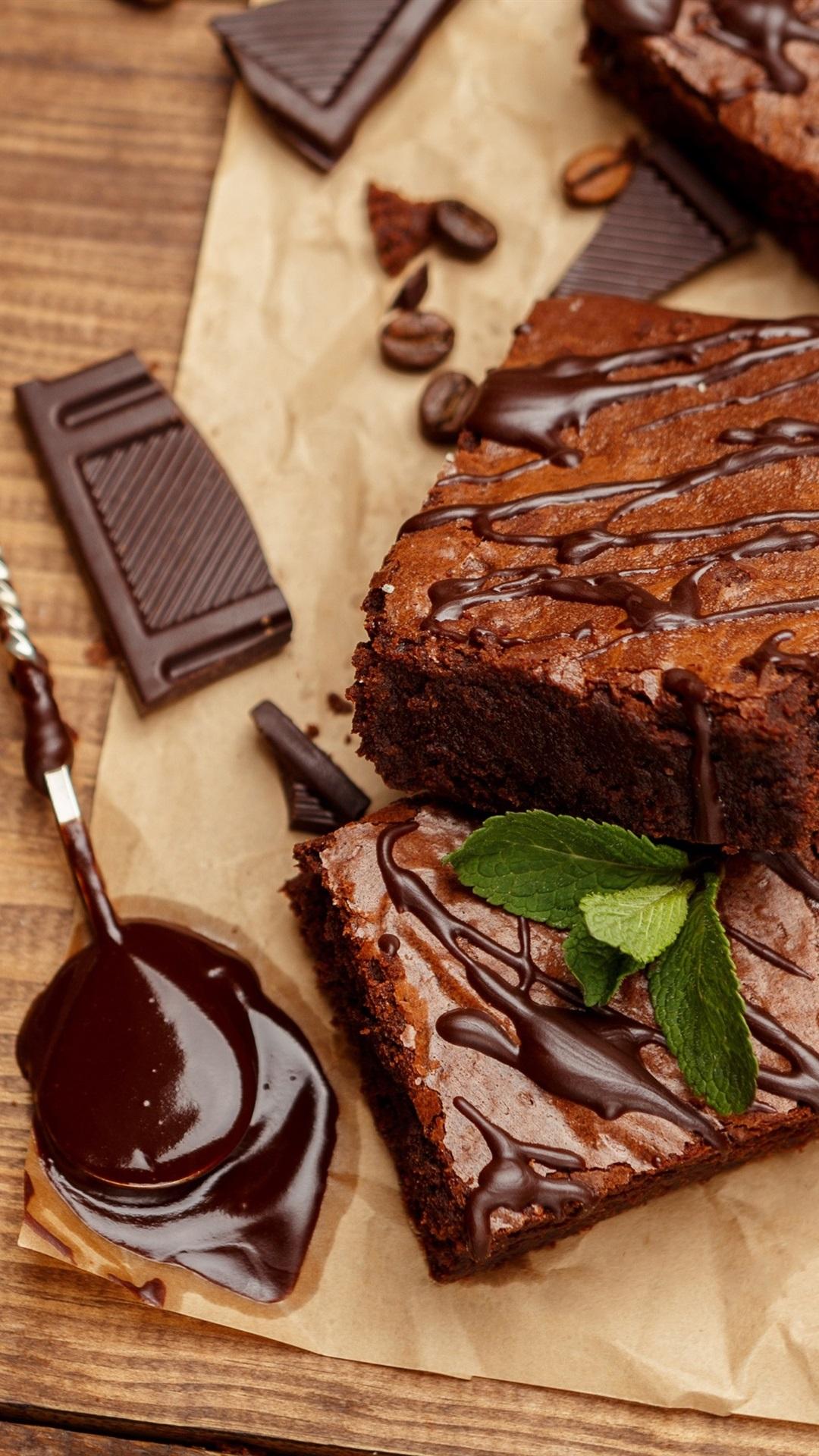 チョコレートケーキ 食べ物 デザート 1080x1920 Iphone 8 7 6 6s