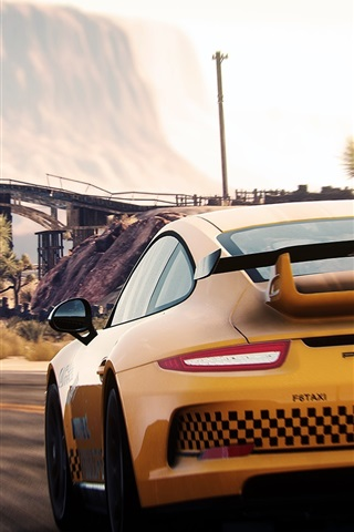 iPhone Wallpaper Need For Speed, Porsche and Ferrari supercars