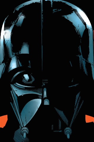 Star Wars Darth Vader Art Picture 640x960 Iphone 4 4s Wallpaper Background Picture Image