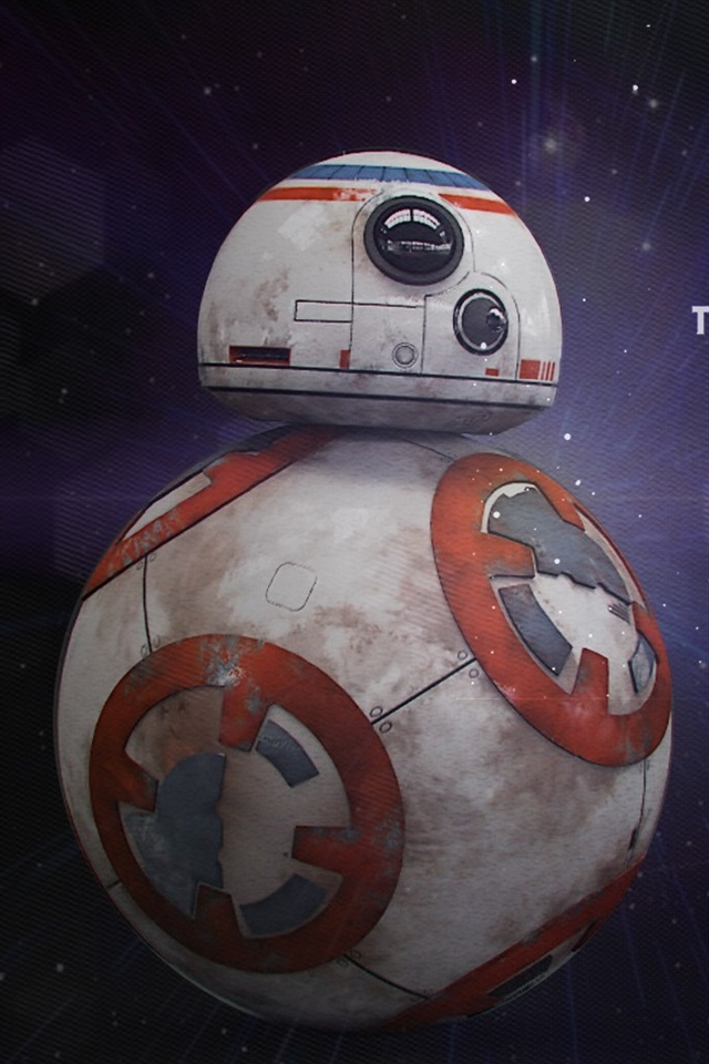 Star Wars Classic Movie Bb8 Robot 640x960 Iphone 4 4s Wallpaper Background Picture Image