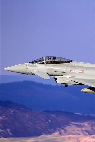 iPhone Papéis de Parede Eurofighter Typhoon multiuso avião de combate