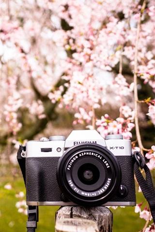 iPhone Wallpaper Fujifilm X-T10 digital camera