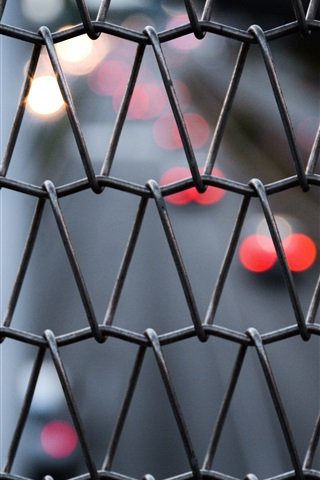 iPhone Wallpaper Mesh, wire fence