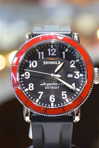 iPhone Wallpaper Shinola watch