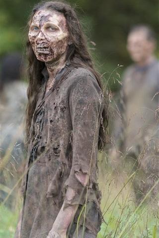 iPhone Wallpaper Zombie, The Walking Dead