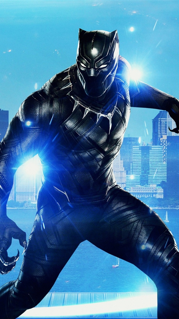2018 Movie Black Panther 750x1334 Iphone 8 7 6 6s Wallpaper