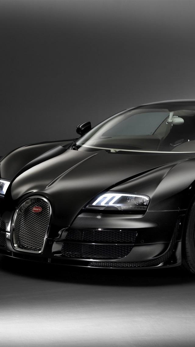 壁纸 布加迪威龙黑色汽车 2560x1600 HD 高清壁纸, 图片, 照片