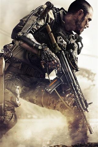 iPhone Papéis de Parede Call of Duty: Advanced Warfare, jogos de PS4
