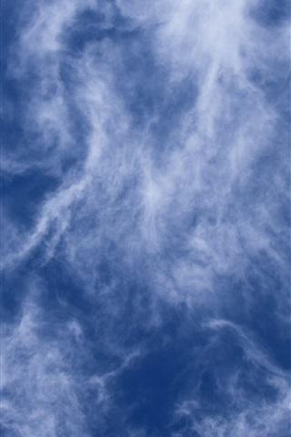 iPhone Wallpaper Cloudy sky, dusk