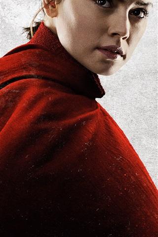 iPhone Papéis de Parede Daisy Ridley, Star Wars: o último Jedi