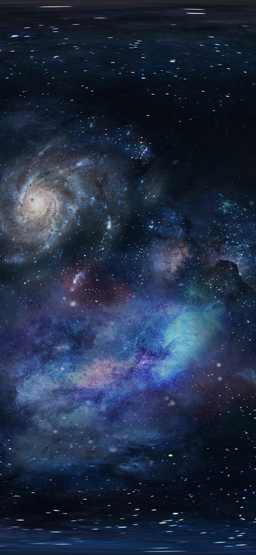 Galaxy universe space