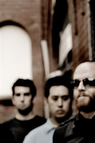 iPhone Wallpaper Linkin Park rock band HD