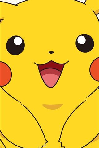 iPhone Wallpaper Pokemon 2017 movie, pikachu
